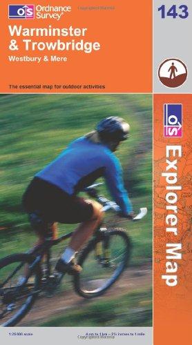 OS Explorer map 143 : Warminster & Trowbridge