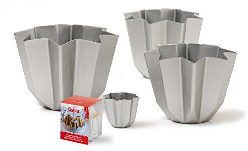 DECORA Molde de Aluminio Pandoro Gramos 750Navidad