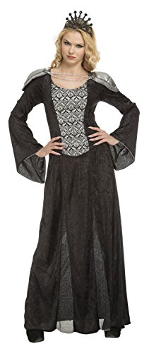 My Other Me Me-204186 Disfraz reina para mujer, color negro, M-L (Viving Costumes 204186)