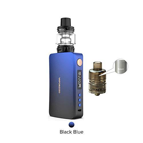 Cigarrillo Electrónico Vaporesso GEN Kit 220W with SKRR-S Tank 8ml Sin Nicotina y Tabaco (Azul negro)