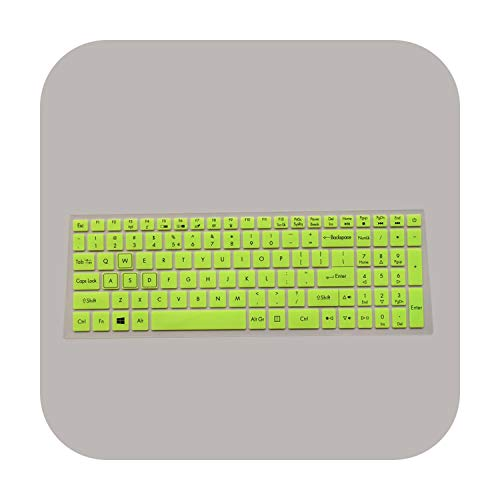For Acer Predator Helios 300 15.6' 17.3' G3-571 G3-572 PH315-51 PH317-52 VX5-591G VN7-793G Laptop Keyboard Cover skin Protector-green-