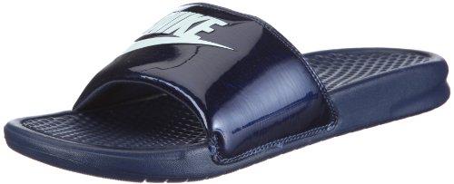 Nike - Chanclas Benassi JDI unisex para adultos, color azul, color Azul y azul., tamaño 7