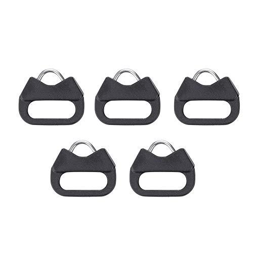 EBTOOLS Dreieckige Splentringe 5 Stücke Ersatz Legierung Split Ring Dreieck Ringe Haken für Kamera Schultergurt Dreiecksring zur Befestigung von Kameragurt für Kameras