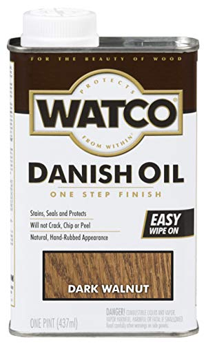 Watco 242221 Danish Oil Wood Finish, Low...