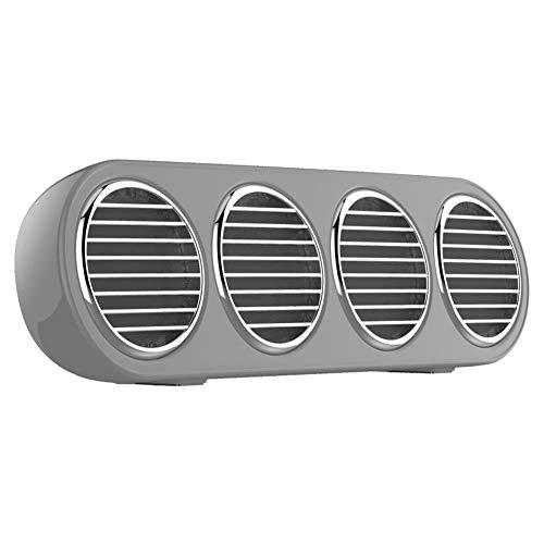Diyeeni Drahtloser Bluetooth-Lautsprecher, sprachgesteuerter HiFi-Radio-Lautsprecher mit großem Akku, MP3-Audio-Musik-Player, 8-stündige Wiedergabe, Support-U-Disk, 32G-Speicherkarte(Grau)