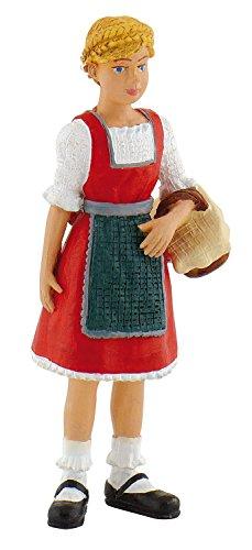Bullyland 62703 - Spielfigur, Bauernmädchen Lena, ca. 6,6 cm