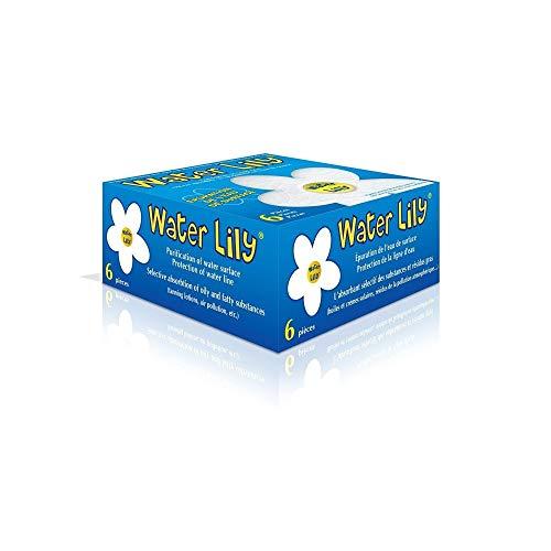 toucan -Une Boite de 6 Absorbant spécifique des résidus Gras - Water lilly-TOU-270-0001-002