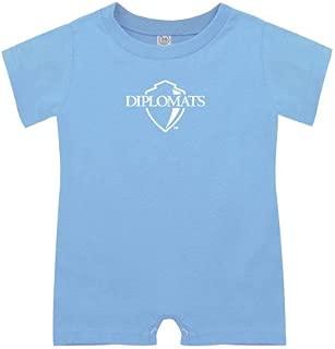 Franklin & Marshall Light Blue Infant Romper 'Diplomats Official Logo'