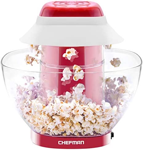 Chefman Electric Perfect Pop Volcano Popcorn Maker with Removable Serving Bowl Healthier Faster product image