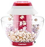 Chefman Electric Perfect Pop Volcano Popcorn Maker with Removable Serving Bowl, Healthier