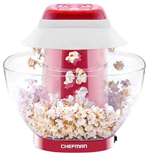 Buy Cheap Chefman Electric Perfect Pop Volcano Popcorn Maker with Removable Serving Bowl, Healthier ...
