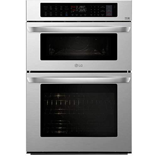 LG LWC3063ST 30 Stainless Smart Double Wall Oven