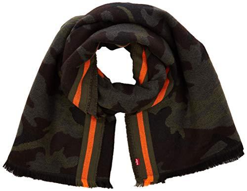 Levi's Phalarope Camo Wrap sjaal, groen (donkergroen 34), eenheidsmaat