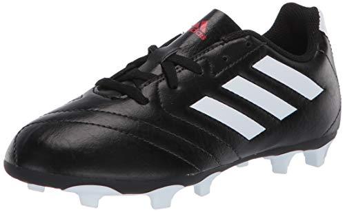 adidas baby boys Goletto Vii Fg Soccer Shoe, Black/ White/Red, 13.5 Little Kid US