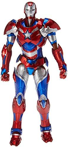 2015 Exclusive Marvel Sentinel Re: Edit Iron Man #03 Iron Patriot Action Figure image