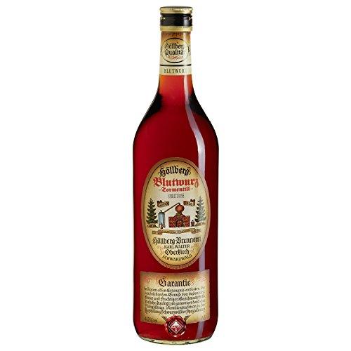 Blutwurz Höllberg 40% vol. (1 x 1 Liter) ohne Aromastoffe hergesteller Kräuterspirituose