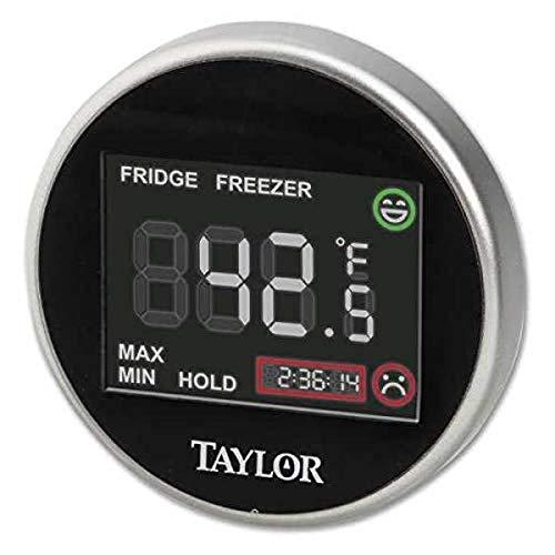 Taylor 1445 Taylor 1445 Pro Series Termómetro digital para nevera y congelador con zona de seguridad
