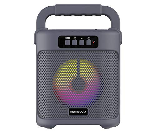 memzuoix Portable Bluetooth Speaker, Rechargeable...