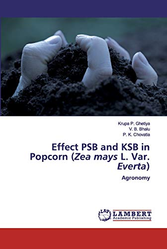 Effect PSB and KSB in Popcorn (Zea mays L. Var. Everta): Agronomy