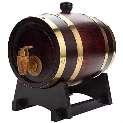 SHAIRMB Barril de Whisky Envejecido de Pino de 1.5L / 3L / 5L / 10L, Envejece Su Propio Whisky, Vino, Bourbon, Tequila y MáS,30 L