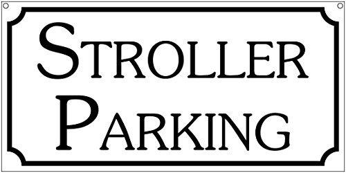 Kinderwagen Parking Dagopvang Baby Amusement Park Aluminium Teken Metalen Tekenen Metalen Tin Teken Muur Plaque 12x6 Kerstmis Verjaardagscadeaus