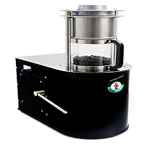 Sonofresco Profile Coffee Roaster, 1-Pound/Sample Roaster, Propane, Black