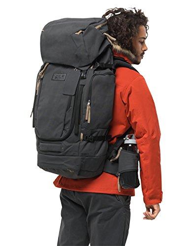 Jack Wolfskin Unisex-Erwachsene Freeman 65 Pack jerk sack de voyage Reiserucksack, Schwarz (phantom), One Size