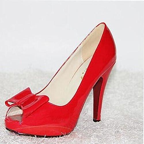 Zormey Les Talons Des Femmes 19Cm Hauteur Talon Peep Toe Sexy Stilettopumps Chaussures Parti