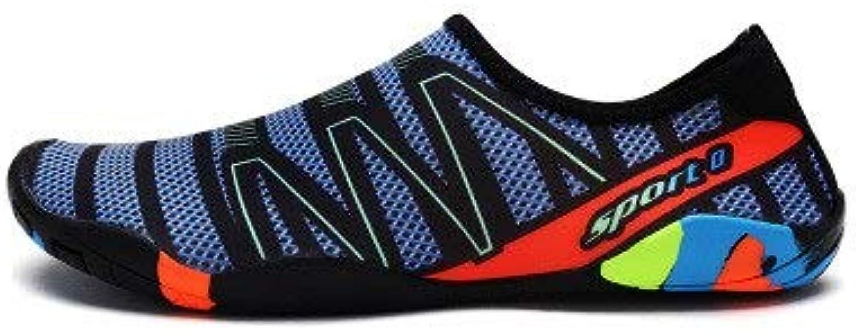 NDJFN Mens Womens Water shoes Barefoot Beach Pool shoes Quick Dry Aqua Yoga Socks for Surf Swim Water Sport
