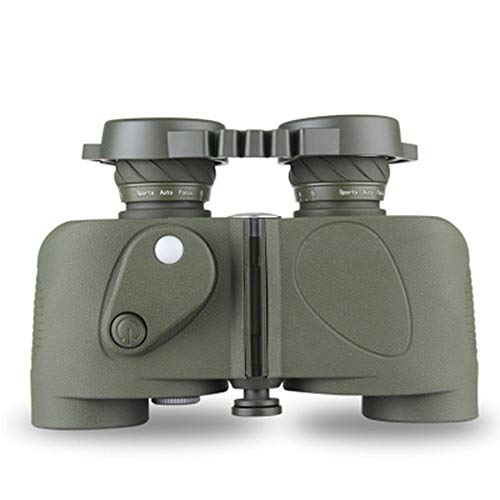 Fernglas Hohe Vergrößerung Compass Ranging Vogelbeobachtung BAK4 Prisma HD High Vergrößerung Outdoor Adventure Sea Navigation Konzert mit Stickstoff gefüllten Wasserdicht
