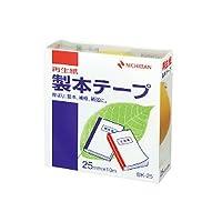 ニチバン 製本テープ 黄 25mm×10m BK-252/54311664