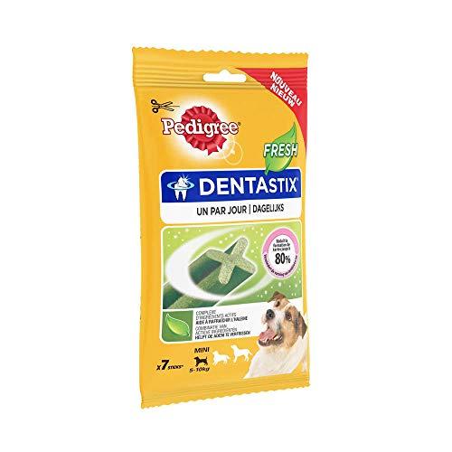 Pedigree : Pedigree Dentastix Fresh Pour Chien : 7 Sticks 110gr