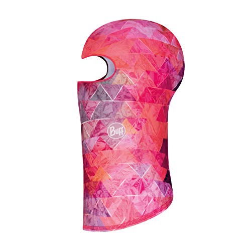 Buff Prysma Balaclava Polaire Jr Fille, Rose, FR Unique Fabricant : Taille One sizeque