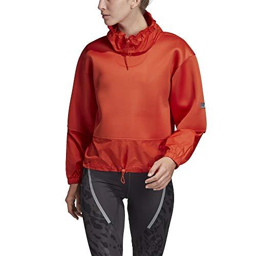 adidas Damska bluza Run czerwona, XS