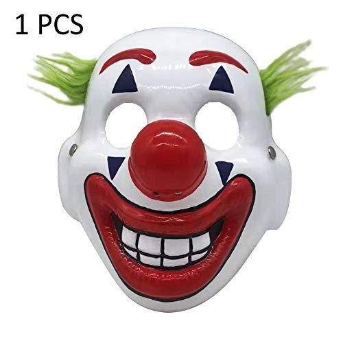 Hifuture Halloween Joker Maske Clown Maske 2019 Joker Maske Arthur Fleck Cosplay DC Film Clown Halloween Masken für die Halloween Party