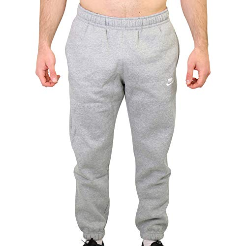 Nike Herren Club Cf Bb Hose, 063 Dk Grey Heather/Matte Silv, L