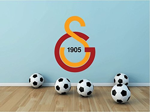 lunaprint Galatasaray FC Turkey Soccer Football Sport Home Decor Art Wall Vinyl Sticker 63 x 45 cm