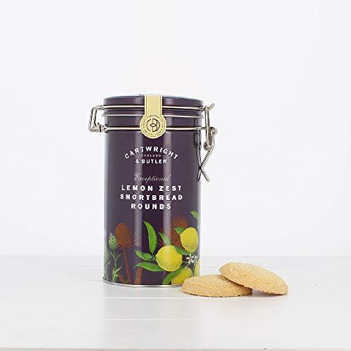 Cartwright & Butler カートライトアンドバトラー レモンショートブレッド(缶)200g (1個)