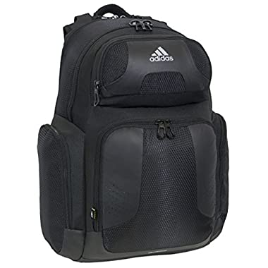 adidas Climacool Strength Backpack, Black, 19 3/4 x 13 3/4 x 9-Inch