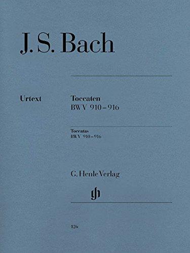 Toccaten Bwv 910-916. Klavier
