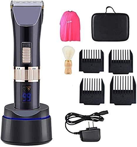 LFSP Professionele tondeuses Hair Trimmer Adult Haar Scherpe Machine Modeling Professional tondeuse set met oplader Mannelijke en vrouwelijke baby tondeuse draadloze oplaadbare LED display gemakkelijk