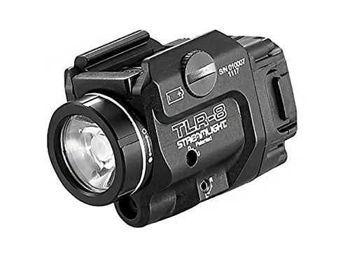 Streamlight TLR-8 Tactical Weapon Mounted Light/Laser 500 Lumens Black Finish