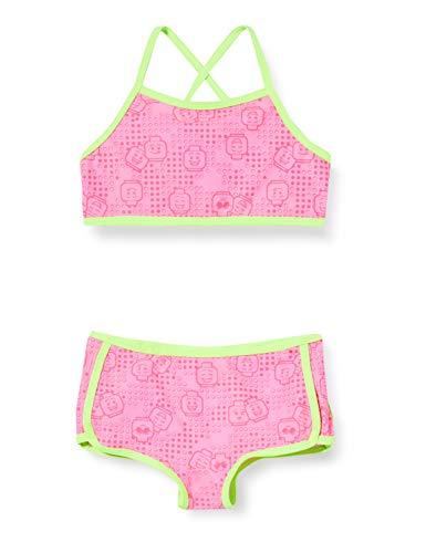 Lego Wear Mädchen Lwandrea Uv Bikini Lsf 50 Plus Badebekleidungsset, Rosa (Pink 469), (Herstellergröße: 128)