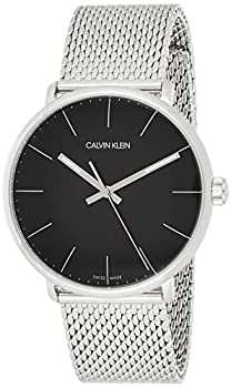 Calvin Klein orologio High Noon 40mm uomo nero acciaio quarzo K8M21121