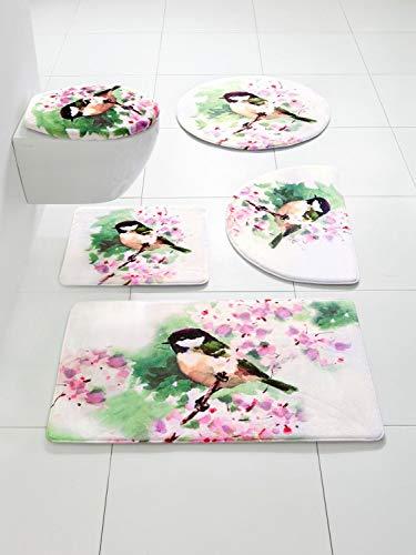 heine home Badteppich Badvorleger mit Foto-Druck aus Memoryschaum super weich, Größe:70 x 110 cm