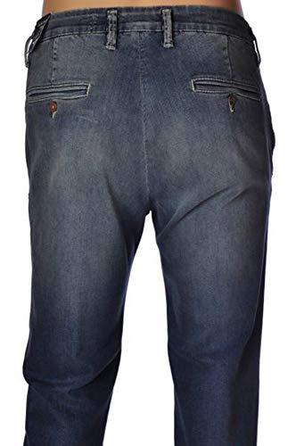 JECKERSON Jeans Tasca America Vintage 30CCJU/PA31/XT08472-D289denimblumedio tg 33