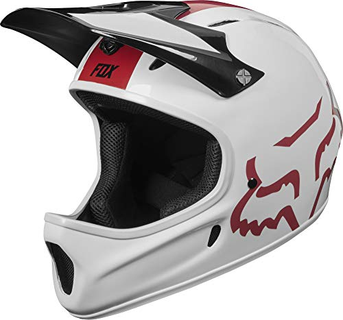 Fox Head Rampage Adult Full Face Bike Helmet (White, Large)