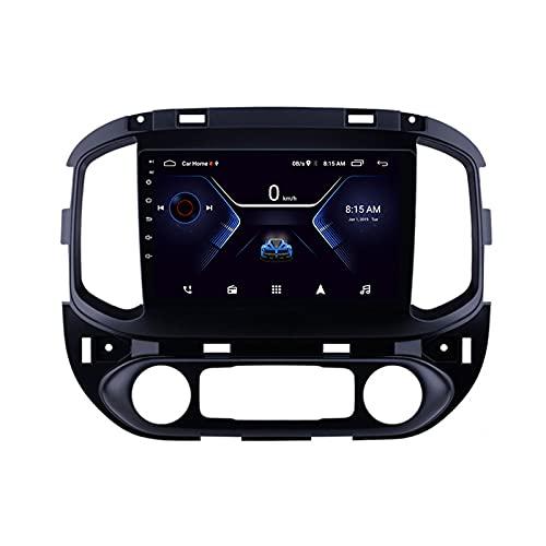 MGYQ 9 Pulgadas Radio Estéreo Coche, para Chevrolet Colorado 2015-2017 GPS Navigator Doble DIN Unidad De Cabezal Soporte FM WiFi 1080P Video Bluetooth SWC,Octa Core,4G WiFi 4+64