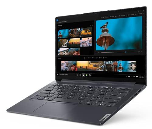 Lenovo Yoga Slim 7 Notebook, Display 14' Full Hd Ips, Processore Amd Ryzen 7 4700U, 1 Tb Ssd, Ram 16 Gb, Windows 10, Slate Grey