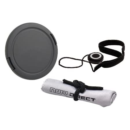 Gadget Career High Quality Center Pinch Front Lens Cap for Sony FE 85mm F1.8